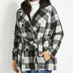 Plus sized coat